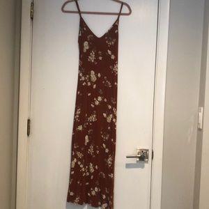 Brandy Melville Maxi floral dress